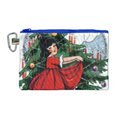 Christmas 1912802 1920 Canvas Cosmetic Bag (large) by vintage2030