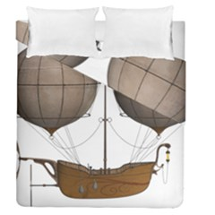 Air Ship 1300078 1280 Duvet Cover Double Side (queen Size) by vintage2030
