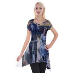 Bicycle 1763283 1280 Short Sleeve Side Drop Tunic by vintage2030