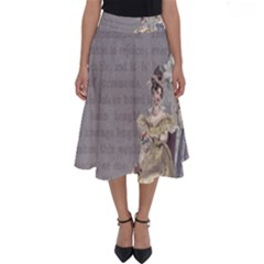Background 1775352 1280 Perfect Length Midi Skirt by vintage2030