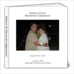 retirement - 8x8 Photo Book (20 pages)