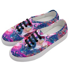 Background Art Abstract Watercolor Women s Classic Low Top Sneakers by Nexatart