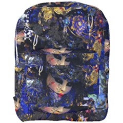 Mask Carnaval Woman Art Abstract Full Print Backpack by Nexatart