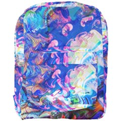 Background Art Abstract Watercolor Full Print Backpack by Nexatart