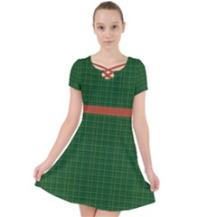 Irish Tartan Style Caught In A Web Dress