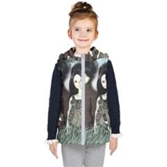 Dolls In The Grass Kid s Puffer Vest by snowwhitegirl