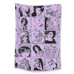 Lilac Yearbook 2 Large Tapestry by snowwhitegirl