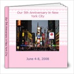 New York Trip - 8x8 Photo Book (20 pages)