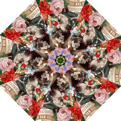 Victorian Collage Straight Umbrellas by snowwhitegirl