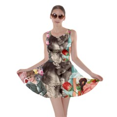 Victorian Collage Skater Dress
