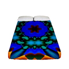 Shannon s Surprise Design  Fitted Sheet (full/ Double Size) by ThePeasantsDesigns