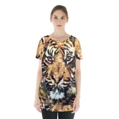 Tiger 1340039 Skirt Hem Sports Top by 1iconexpressions
