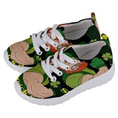 St  Patricks Day Kids  Lightweight Sports Shoes by Valentinaart