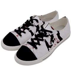 Stop Animal Testing   Rabbits  Men s Low Top Canvas Sneakers by Valentinaart