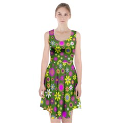 Abstract 1300667 960 720 Racerback Midi Dress