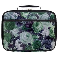 Rose Bushes Green Full Print Lunch Bag by snowwhitegirl