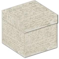 Handwritten Letter 2 Storage Stool 12