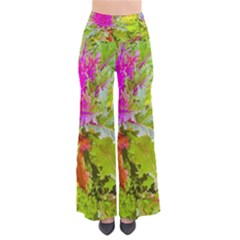 Colored Plants Photo Pants by dflcprints