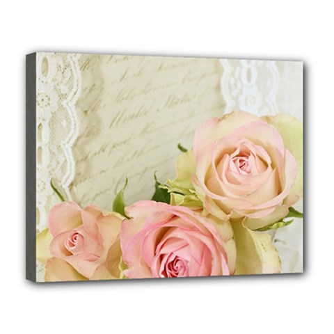 Roses 2218680 960 720 Canvas 14  X 11  by vintage2030