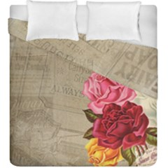 Flower 1646069 1920 Duvet Cover Double Side (king Size) by vintage2030