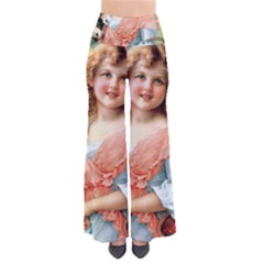 Girl With Dog Pants by vintage2030