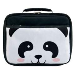 Panda  Lunch Bag by Valentinaart