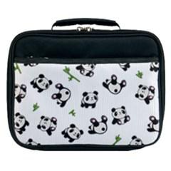 Panda Pattern Lunch Bag by Valentinaart