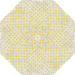 Circles3 White Marble & Yellow Watercolor Folding Umbrellas by trendistuff