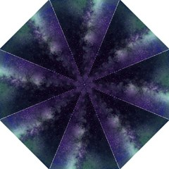 Galaxy Sky Purple Straight Umbrellas by snowwhitegirl