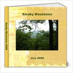 smoky mountain book - 8x8 Photo Book (20 pages)