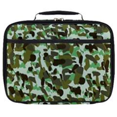 Brownish Green Camo Full Print Lunch Bag by snowwhitegirl