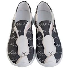 Easter Bunny  Men s Lightweight Slip Ons by Valentinaart