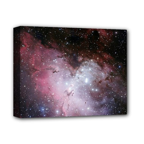 Nebula Deluxe Canvas 14  X 11  by snowwhitegirl