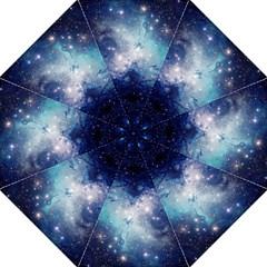 Nebula Blue Straight Umbrellas by snowwhitegirl