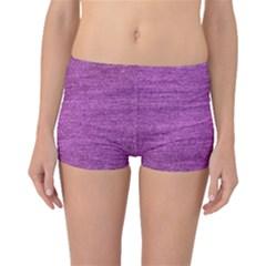 Purple Denim Boyleg Bikini Bottoms by snowwhitegirl