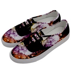 Awesome Eagle With Flowers Men s Classic Low Top Sneakers by FantasyWorld7