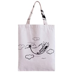 Bird Classic Tote Bag by ValentinaDesign