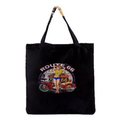 Route 66 Grocery Tote Bag by ArtworkByPatrick