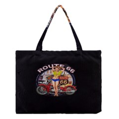 Route 66 Medium Tote Bag by ArtworkByPatrick