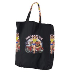 Route 66 Giant Grocery Zipper Tote by ArtworkByPatrick