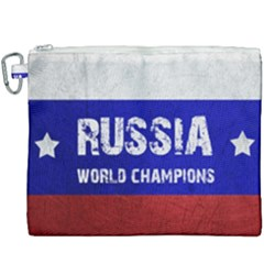 Football World Cup Canvas Cosmetic Bag (xxxl) by Valentinaart