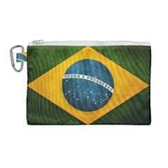 Football World Cup Canvas Cosmetic Bag (large) by Valentinaart