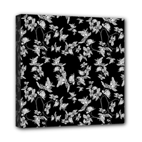 Dark Orquideas Floral Pattern Print Multi Function Bag	 by dflcprints