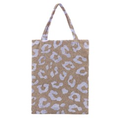 Skin5 White Marble & Sand (r) Classic Tote Bag by trendistuff