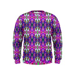 Pattern 32 Kids  Sweatshirt