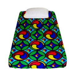 Colorful 4 Fitted Sheet (single Size) by ArtworkByPatrick