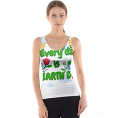 Earth Day Tank Top by Valentinaart