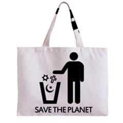 Save The Planet   Religions  Zipper Mini Tote Bag