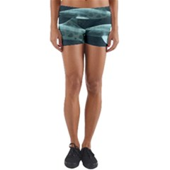 Leopard Shark Yoga Shorts by trendistuff