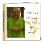 GRANNY S 90TH BIRTHDAY PHOTO BOOK - 8x8 Photo Book (20 pages)